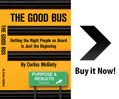 The Good Bus Book by Corliss McGinty